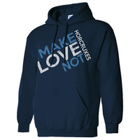 Make Love Not Horcruxes Harry Potter Inspired Hoodie Sweat Shirt