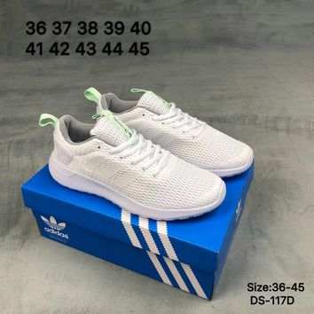 Adidas HOOPS TEAM MID W Men and Women White Fashion Breathe Sports Running Shoes