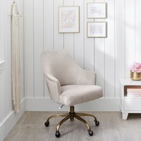 Pleated Desk Chair