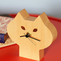 ModCloth Cats The Purr-fect Time Clock