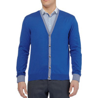 PRODUCT - Etro - Cotton and Cashmere-Blend Cardigan - 398095   MR PORTER