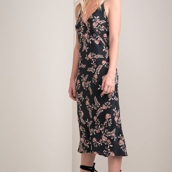Jessie Bias Cut Silk Slip Dress