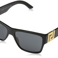 Versace VE4296 Sunglasses GB1/87-59 - Black Frame, Gray