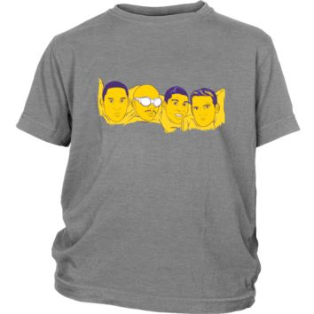 "Lakers ""Mount Rushmore"" Youth Shirt"