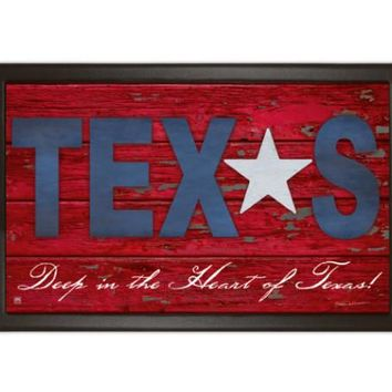 Texas Door or Kitchen Mat