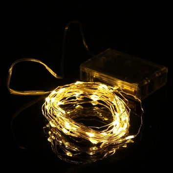 50 String LED Lights  - Battery Operated