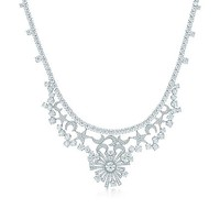 Tiffany & Co. -  Jean Schlumberger Stars and Moons necklace in platinum with diamonds.