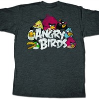 Angry Birds T-Shirt | Video Game T-Shirt | Old School Tees