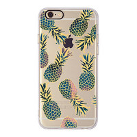 Golden Pineapple Fruits Soft Case For iPhone 6 6S, 6Plus, 6SPlus