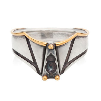 Lee Renée Abelard Silver & Gold Vermeil Ring