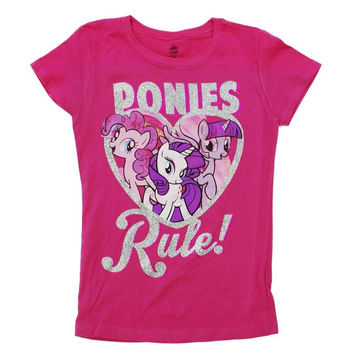 My Little Pony - Ponies Rule Girls Youth T-Shirt