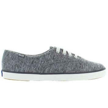 ONETOW Keds Champion - Charcoal Jersey Lace-Up Sneaker