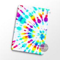 Rainbow Swirl Tie Dye iPad Case Case Cover Series