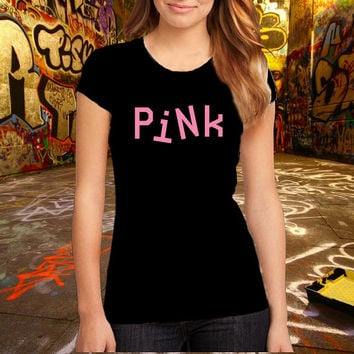 Pink Victoria's Mode Premium Fashion Printed T Shirt, Women T Shirt, (Various Color Available)