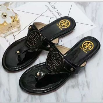Tory Burch Ladies Slippers Casual Fashion Women Sandal Slipper Shoes H-LLBPFSH