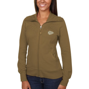 Kansas City Chiefs Cutter & Buck Women's Vancouver Full Zip Sweatshirt - Green