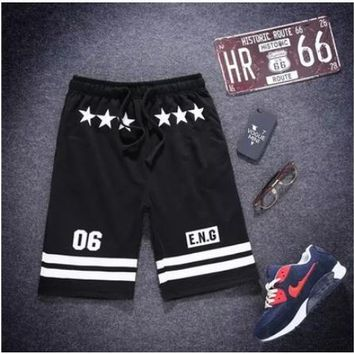 NEW 2018 Outdoor Sport Summer men's Sports Thin street sweatpants Boy Loose mens Running Gym hip hop elastic Baseball Shorts