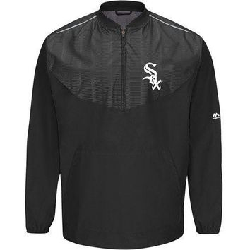 Chicago White Sox On-Field Long Sleeve Training Jacket by Majestic Athletic