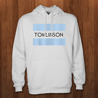 louis tomlinson Hoodie for size s-3xl, for color black, white, gray, and red
