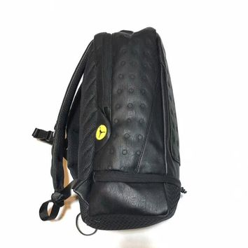 Air Jordan Retro 13 Black Cat Backpack - Best Deal Online