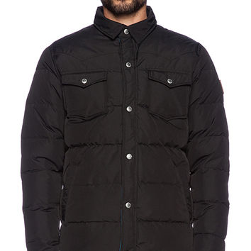 Penfield Rockford Insulated Jacket in Black