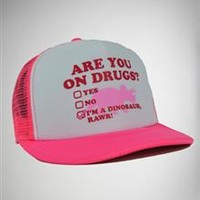 'Are You on Drugs ?' Trucker Hat