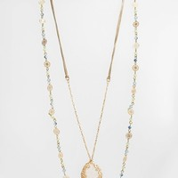 Women's Lonna & Lilly 'Nature's Whim' Layered Necklace