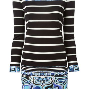 Emilio Pucci patterned mini dress