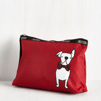 Critters Leave Your Bark Clutch by LeSportsac from ModCloth