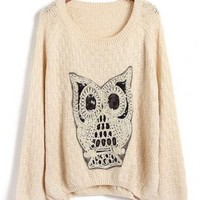 Owl ComfortTurtleneck Sweater
