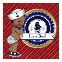 Anchors Whales Nautical Baby Shower