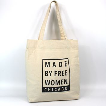 MARKET TOTE - MADE BY FREE WOMEN CHICAGO