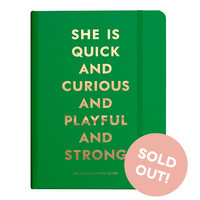 2016 kate spade new york Medium Agenda - Quick and Curious
