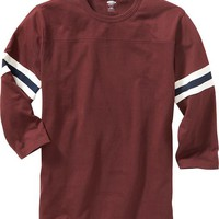 Old Navy Mens Varsity Style Football Tee