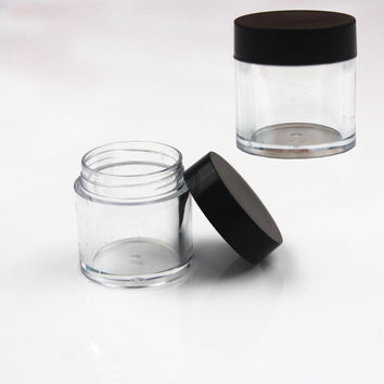 Empty Cosmetic Containers Bottle 10Gram Contenitori Cosmetici Jar Envases Plastico Garrafa Plastic Jars With Lid Makeup Storage