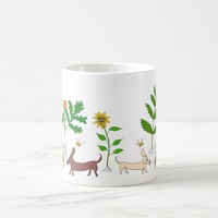Dogs and Cats and Plants Coffee Mug