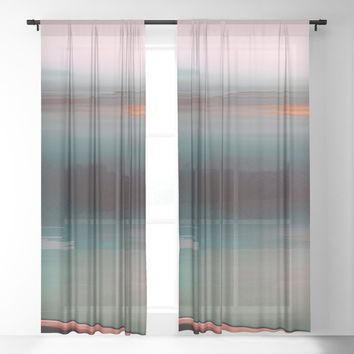Stowaway Sheer Curtain by duckyb