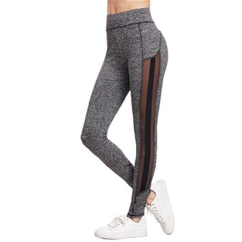 Block Fitness Leggings Workout Clothes For Women