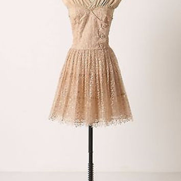 Anthropologie $298 Pictureshow Dress Sz 4 - By Tracy Reese NWOT