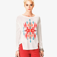 Long Sleeve Ganado Tee | FOREVER 21 - 2052287832