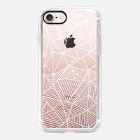 Ab Half and Half White Transparent iPhone 7 Case by Project M | Casetify