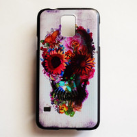 Samsung Galaxy S5 Skull Case Hard Plastic Infinity Galaxy S5 Day Of The Dead Back Cover Cute Samsung S5 Cover