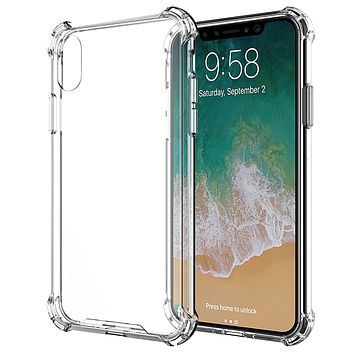 iPhone XS and X Clear Case Case ShockProof Case