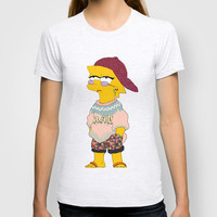 chic lisa simpson T-shirt by Sara Eshak | Society6
