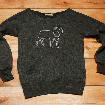 all bark and no bite Rottweiler Sweatshirt, Dog Sweater, Big Dog Shirt, S,M,L,XL