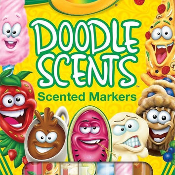 Crayola Doodle Scents Markers (18 Count) 1-Pack of 18