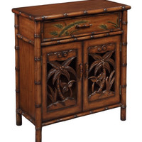 Tropical Brown Accent Chest