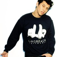 LB Cali Hands- Crew Necks
