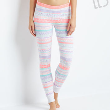 Aeropostale LLD Fair Isle Sleep Leggings from Aéropostale | LIVE