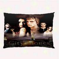 The Mortal Instruments Custom Pillow Case - One side ( Front Print )